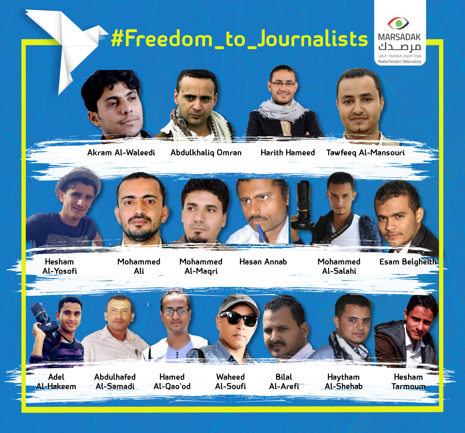 On World Press Freedom Day, Media Freedom Observatory calls for saving journalists from execution