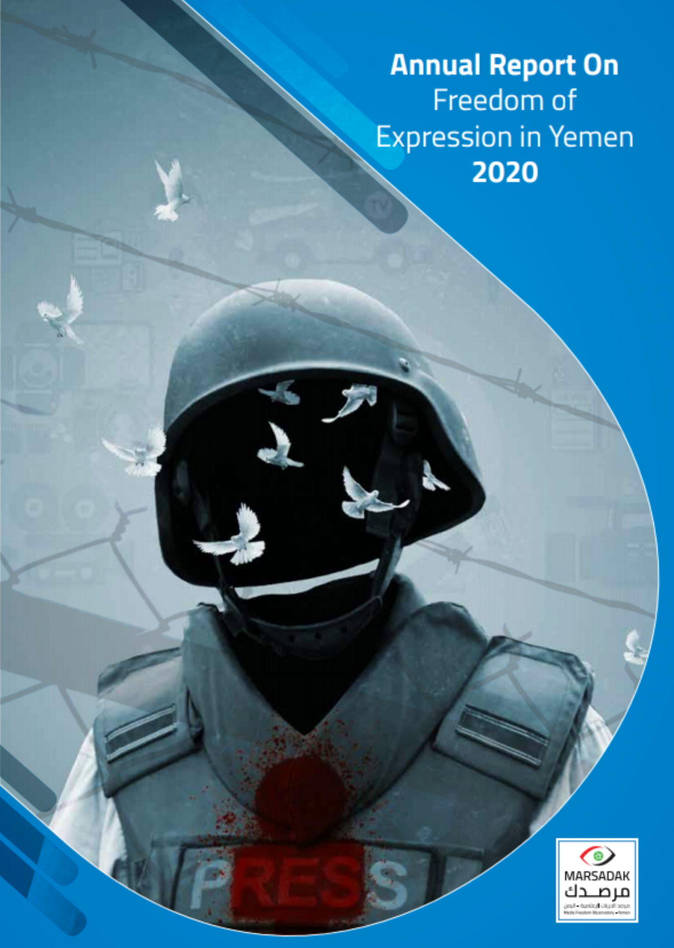 Yemen's MFO releases 2020 media freedom violation report .. Journalists give painful testimonies